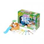 Crayola Scribble Scrubbie Safari Animal Tub Play Set