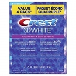 Crest 3D White Radiant Mint Whitening Toothpaste, Pack Of 4, 75ml