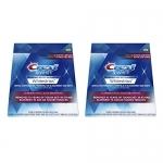 Crest 3D White Whitestrips Glamorous White Teeth Whitening, 28 Count – Pack of 2