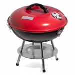 Cuisinart Portable Charcoal Grill, 14-Inch, Red