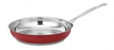 CUISINART Chef's Classic Stainless Open Skillet 10″