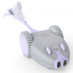 DADYPET Interactive Robotic Cat Toy, Mouse Shape