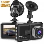 Cankoo Dash Cam Full HD 1080P 170 Degree Super Wide Angle