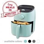 Dash Tasti Crisp Electric Air Fryer + Oven Cooker, 2.6Qt, Aqua