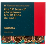The 12 Teas of Christmas Tea Sampler