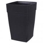 DCN Plastic Harmony Tall Planter, 12 by 18-Inch