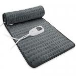 Dekugaa Heating Pad, Multiple Temp and Timer Settings, 12″ x 24″