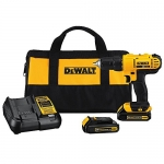 DEWALT 20V Max Lithium-Ion Compact Drill Kit