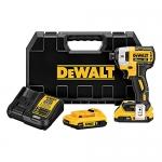 DEWALT 20V MAX XR Li-Ion Brushless 0.25-Inch 3-Speed Impact Driver Kit