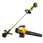 DEWALT Brushless XR 20V MAX 2Ah Lithium Ion Blower and String Trimmer Combo Kit