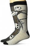 Disney mens Nightmare Before Christmas 2 Pack Crew Socks