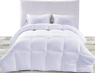 Down Alternative Comforter (White, Queen)