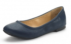DREAM PAIRS Sole-Happy New Women's Flexible Stretch Topline Comfort Ballerina Flats Shoes