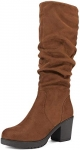 DREAM PAIRS Women's CHAI-3 Knee High Stretch Boots