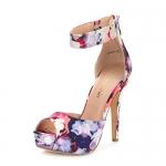 DREAM PAIRS Women's Swan-05 High Heel Platform Dress Pump Shoes