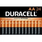 Duracell Coppertop AA Alkaline Batteries, 24 Count