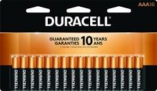 Duracell – CopperTop AAA Alkaline Batteries – 16 count