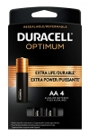 Duracell Optimum AA Batteries | 4 Count