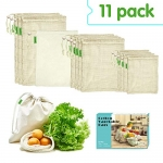 E-Know Produce Bags,11 Pack Reusable Produce Bags