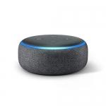Echo Dot (4th gen.), Charcoal with Amazon Smart Plug
