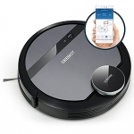ECOVACS DEEBOT 901 Smart Robotic Vacuum for Carpet, Bare Floors, Pet Hair, with Mapping Technology, Higher Suction Power, WiFi Connected
