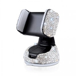 eing Car Phone Mount Bling Crystal Cell Phone Holder
