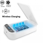 eLUUGIE UV Cell Phone Sanitizer with Wireless Charger