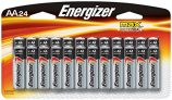 Energizer AA Batteries, Double A Battery Max Alkaline (24 Count)