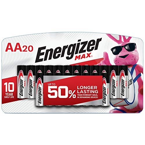 Energizer MAX AA Batteries, 20 Count