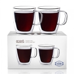 Eparé Insulated Coffee Cups Set (12 oz, 350 ml)