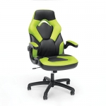 Essentials Racing Style Leather Gaming Chair, Green