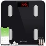 Etekcity Bluetooth Body Fat Scale Smart digital Bathroom Scale
