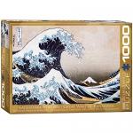 Eurographics Great Wave Kanagawa by Hokusai 1000-Piece Puzzle
