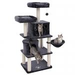 FEANDREA Multi-Level 60″ Cat Tree