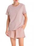 Femofit Pajamas for Women Cotton Short Sleepwear Set