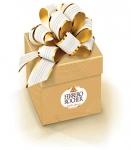 Ferrero Rocher Golden Gift Box, 18 Count