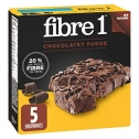 Fibre 1 Chocolate Fudge Brownies, 5 Count