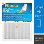 Filtrete Smart Filter MPR 1900 20x25x1, Premium Allergen, Bacteria & Virus AC Furnace Air Filter, 1-Pack