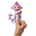 Fingerlings Baby Monkey & Mini BFFs – Violet & Hope