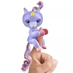 Fingerlings Baby Unicorn – Alika (Purple with Rainbow Mane and Tail)