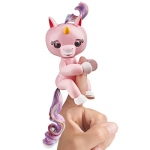 Fingerlings Baby Unicorn – Gemma (Pink with Rainbow Mane and Tail)