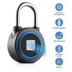 Bluetooth Fingerprint Padlock
