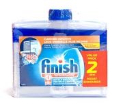 Finish Dishwasher Cleaner Dual Action Formula, Original, 2 Count