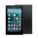 Fire 7 Tablet, 7″ Display, 16 GB, Black