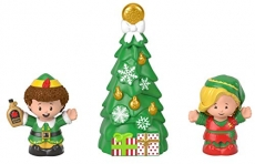Fisher-Price Little People Collector Elf Movie Figure Set