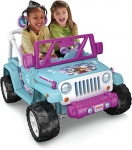 Fisher-Price Power Wheels Frozen Jeep