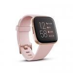 Fitbit Versa 2 Health & Fitness Smartwatch – Petal/Copper Rose