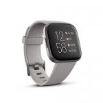 Fitbit Versa 2 Health & Fitness Smartwatch – Stone/Mist Grey