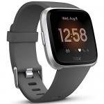 Fitbit Versa Lite Smartwatch, Charcoal