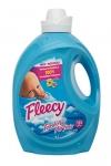 Fleecy Liquid Fabric Softener, Fresh Air, 4 Liter
